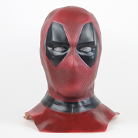 Deadpool 2 Marvel Deadpool Masks Halloween Cosplay Costume Props Superhero Movie Latex Mask Collectible Toys Face mask