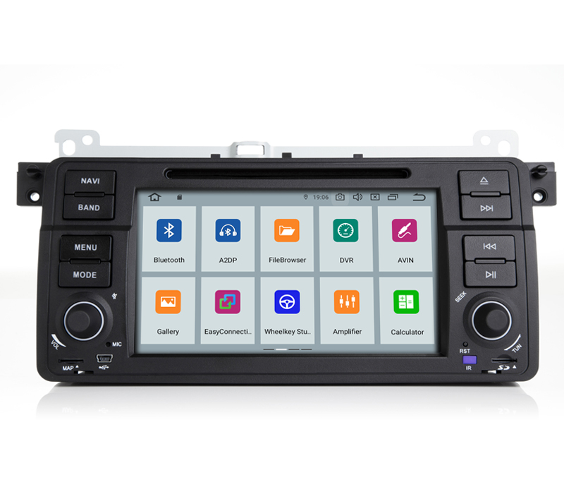 Perfect COIKA Android 9.0 System Car Head Unit 2+16G RAM For BMW 3 Series E46 MG ZT Rover 75 GPS Navi Stereo WIFI Google 1080P Video SWC 1