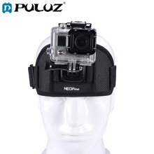 PULUZ Adjustable Action Camera Fixed Head Strap GoPro Belts for HERO4 /3+ /3 /2 /1, Xiaomi Yi Sport