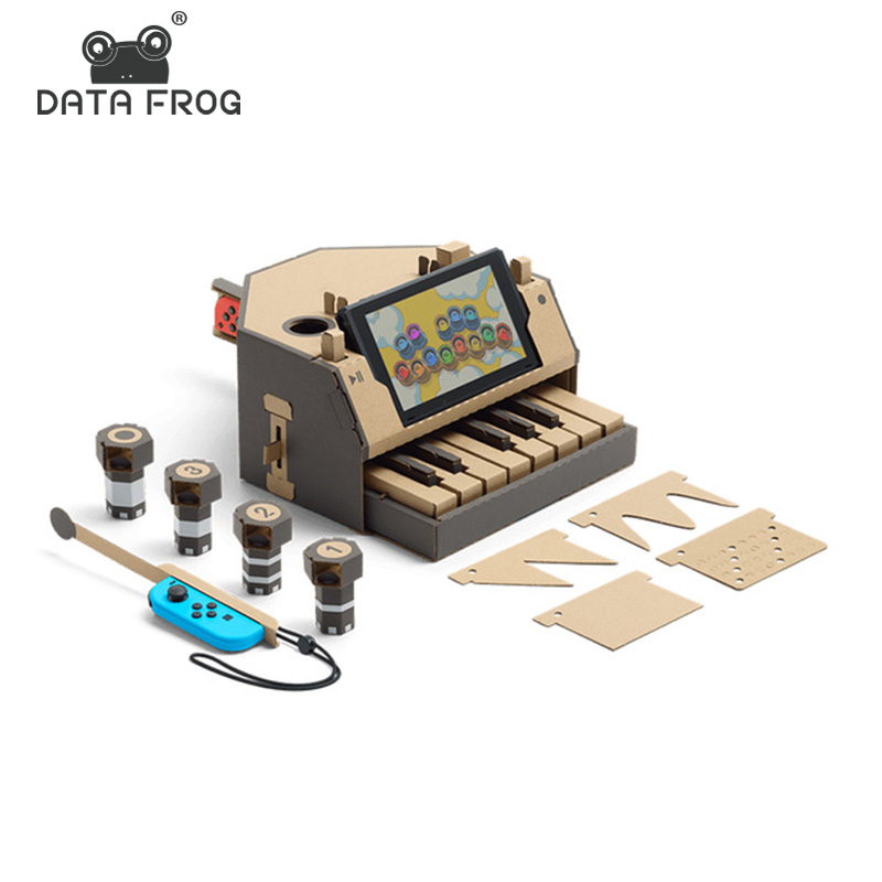 DATA FROG DIY Labo Accessories For NS Console Joy Con Cardboard For Nintend Switch Bracket Paper Controller Gaming For JoyCon