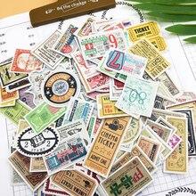 160 шт милые западные античные наклейки для билета, дневник, украшения для книг, самоклеющиеся наклейки/Самоклеящиеся наклейки для рукоделия