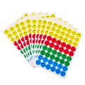 540pcs Children Smile Face Reward Stickers School Teacher Merit Praise Class Sticky Paper Lable Kawaii Emoji Sticker 10sheet/set