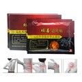 16 Pcs/2 Caixas de Pomada Alívio Da Dor Patch Para Juntas de Veneno de Escorpião Adesivo Gesso Ortopédico Massageador Medicado Emplastros C450