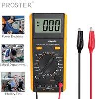 Proster for LCR meter multimeter tester capacitance Inductance Resistance self discharge BM4070 LCR meter capacitance