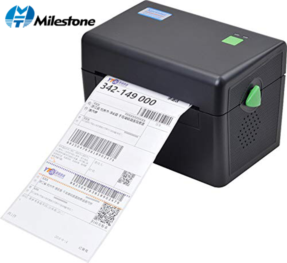 Milestone Thermal Printer With High Quality 108mm 4 Inch Thermal Label Barcode Printer USB Port MHT-DT108B(China)