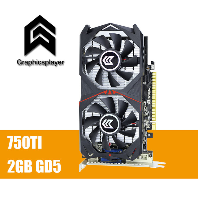 Original Graphics Card GTX 750TI 2048MB/2GB 128bit GDDR5
