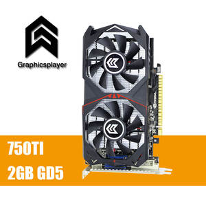 750TI Graphics Card GTX for NVIDIA Geforce PC VGA 2048 MB/2 GB 128bit GDDR5 Placa