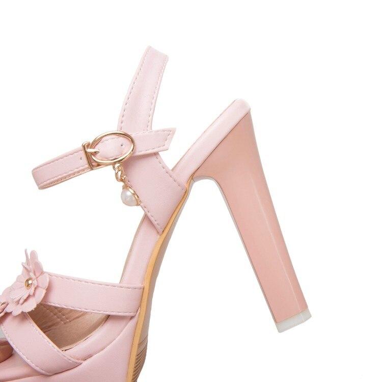 Negro Boda Rosado Pxelena Zapatos Alto Señora Blanco Grande nk8OPw0