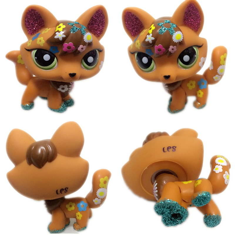 New Rare Lps Pet Shop Toy Shorthair Cat Shining Fox Dog Bright Eyes Spaniel Great Dane Exquisite Lps Action Figure Gift Best Set