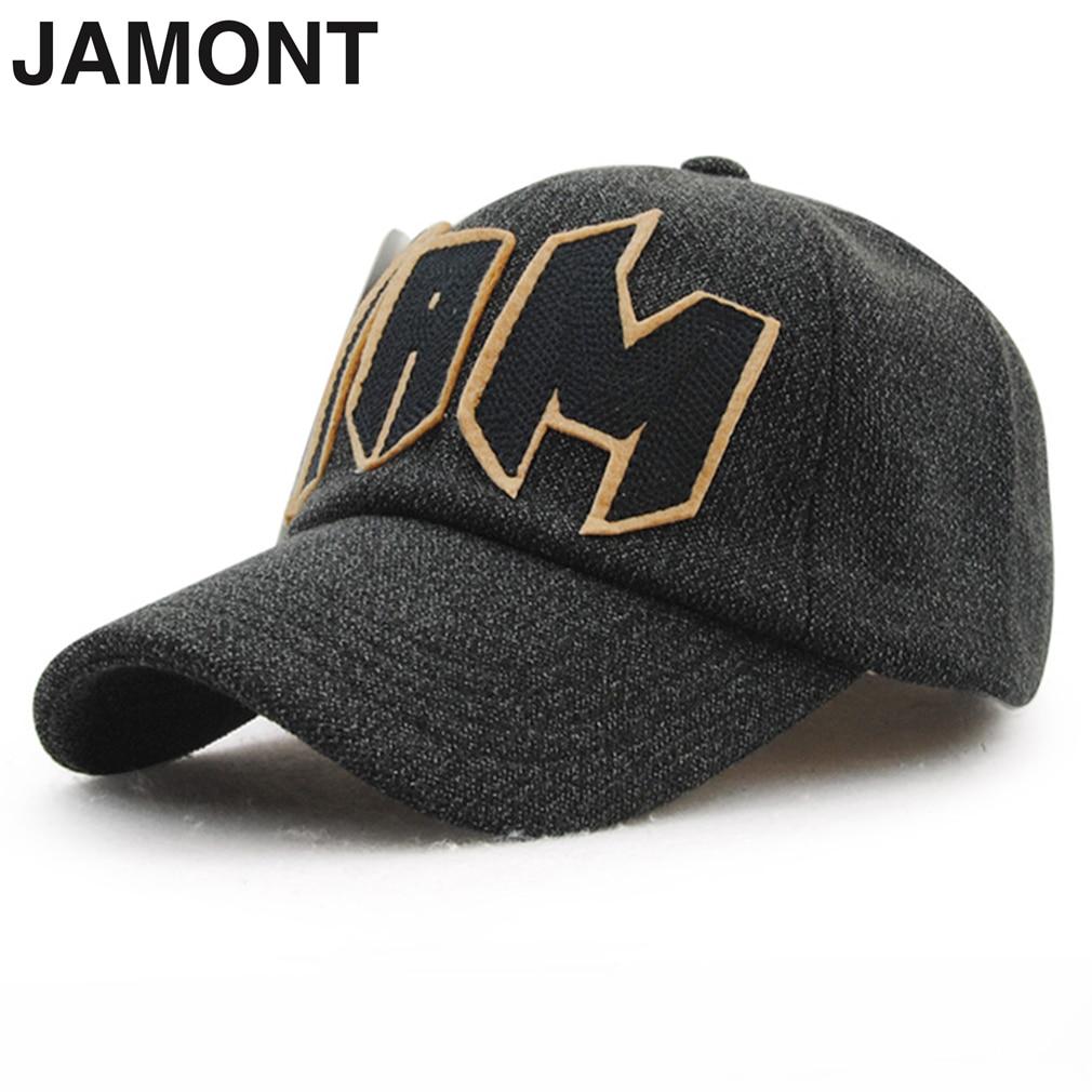 JAMONT Autumn Winter Comfortable Keep Warm Baseball Caps Protect Ear Sunshade Men Women Unisex Caps Hot