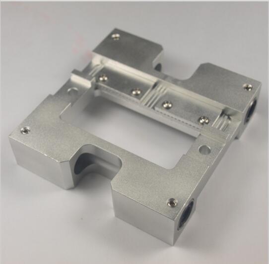 3D printer accessories Replicator Upgrade X axis slider metal Extruder Carriage Flashfoge/CTC fixing aluminum piece ...