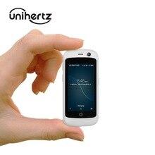 Unihertz jelly pro, o menor smartphone 4g no mundo, android 8.1 oreo desbloqueado mini telefone com 2 gb ram 16 gb rom branco