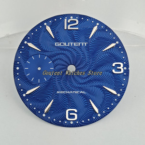"Image 4 - 36.8 מ""מ Goutent שעון חיוג ערכת ETA 6497, שחף st36 מכאני גברים של שעון פרצופים (6 סגנונות של פרצופים)"