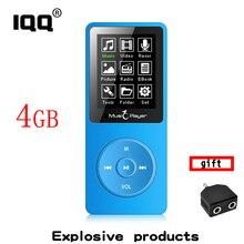2018 nova versão MP3 Player Construído em 4 GB de memória com 1.8 polegadas Tela pode jogar 80 h Portátil Walkman som Lossless Com FM/Record