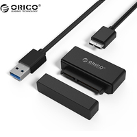 ORICO 21UTS USB3 0 To SATA Hard Drive Adapter SSD Adapter Cable Converter Super Speed USB