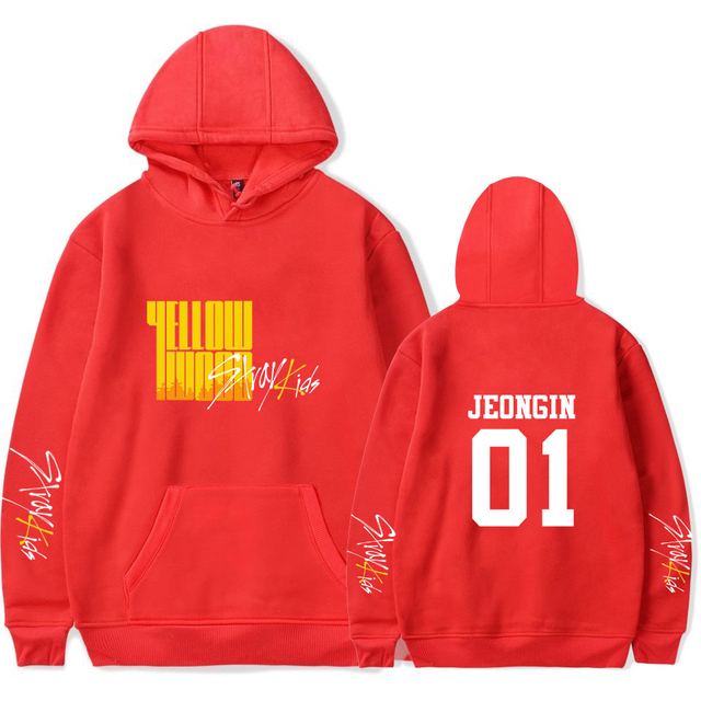 STRAY KIDS YELLOW WOOD HOODIE (24 VARIAN)