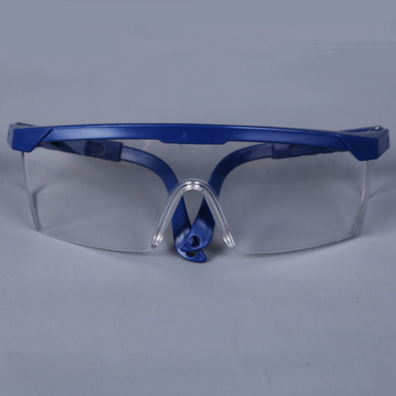 Protective Goggles Safety Glasses Welding Glasses Green Eye Wear Adjustable Work Lightproof Glasses ...