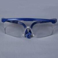 ZK20 Dropshipping 보호 고글 안전 안경 용접 안경 녹색 눈 착용 조정 가능한 작업 Lightproof 안경