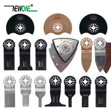 NEWONE 66pcs Starlock blade Oscillating Tool Saw Blades Set fit for Multi tool Cut Wood Plastic Polish Ceramic Tile Remove Dirty - DISCOUNT ITEM  15% OFF All Category