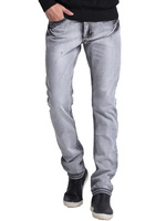 Vomint Brand Hot Sale basic classic Mens Casual Slim jeans men washed stretch denim Quality Fit Loose Waist Jeans For jean YG615