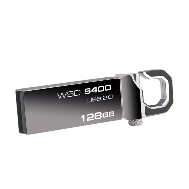 USB Flash Drive Stainless Steel Wansenda Pendrive 32gb 64gb Pen Drive 8gb 16gb Flash Drive USB 2.0 Memory Stick U Disk