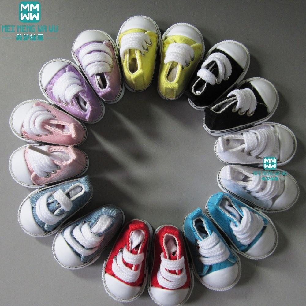Zapatos de muñeca de 5cm zapatillas fits1 / 6 bjd doll mini - Muñecas y peluches