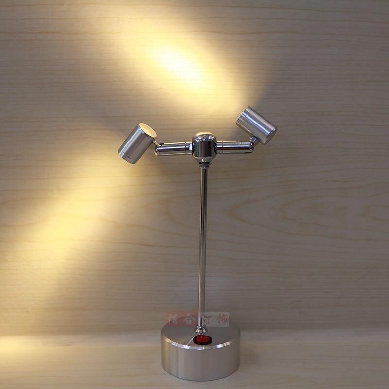 Batterie lampe scheinwerfer LED blubs kopf lampen vitrine ...