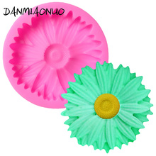 DANMIAONUO Chrysanthemum Cake Tool Silicone Lace Mat Fondant Flower 3d Mold Decorating Chocolat Baking Tools A103835