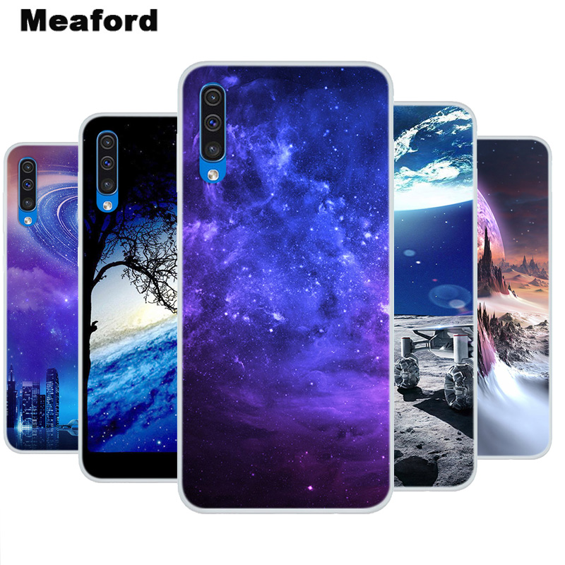 Silicone Case For <font><b>Samsung</b></font> Galaxy A30S Space Art Print Soft Cover For <font><b>Samsung</b></font> Galaxy A30S <font><b>A50S</b></font> <font><b>hoesje</b></font> Clear bumper Capa A 30S image