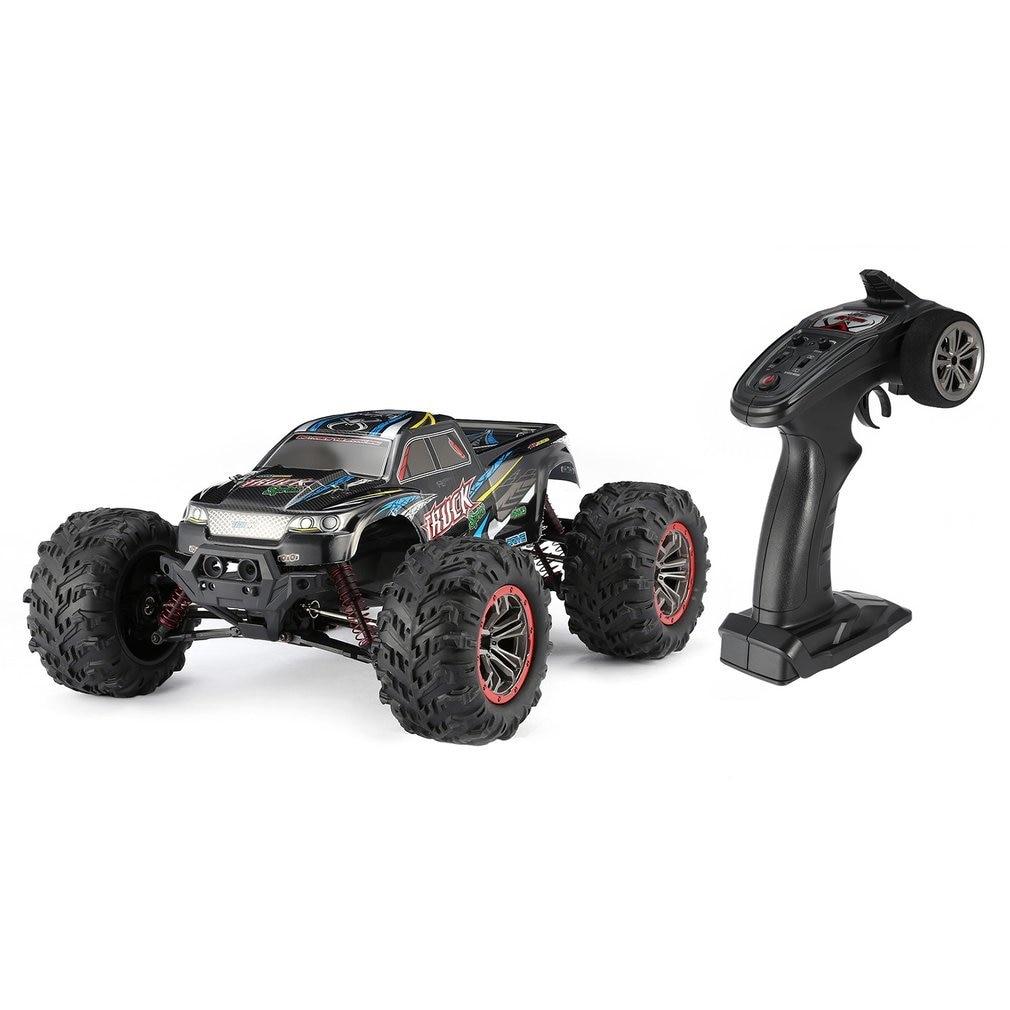 Высокое качество 9125 4WD 1/10 RC гоночный автомобиль с высокой скоростью 46 км/ч Электрический сверхзвуковой грузовик внедорожник багги игрушки РТР