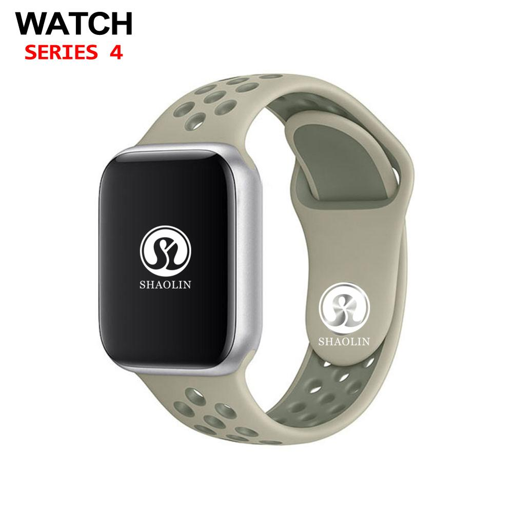 Bluetooth Smart Watch Series 4 Support Facebook Whatsapp Smartwatch For Android Samsung Phone for Apple watch