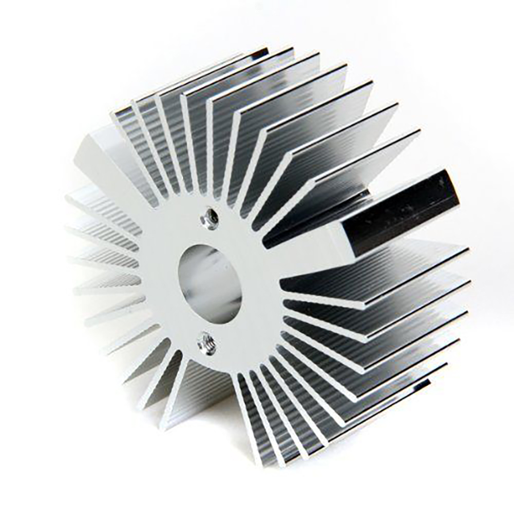 1 Pc Aluminium Kühlkörper Kühlkörper Kühl Werkzeug Für 3 W Led Licht Teile Silber Farbe