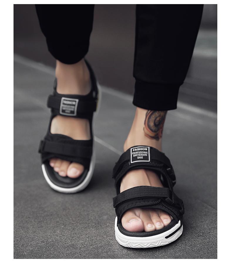 Man Beach Sandals Summer Gladiator Men's Outdoor Shoes Roman Men Casual Shoe Light Flip Flops Slippers Fashion Sandals Casuals 22
