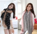 Autumn and winter fashion Korean lovely dot Bali yarn size Talasite little scarves wholesale air conditioning sunscreen