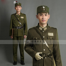 The Republic Of China Military officers in American uniforms high-grade general TV Moive costume TaiWan Army Traditional Outfit