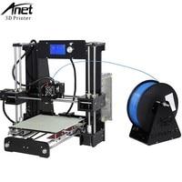 Easy Assemble Anet A6 Impresora 3D Printer Kit Acrylic Frame Big Size Reprap I3 DIY Printers