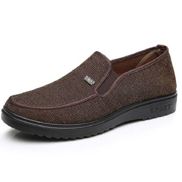 Специальная Цена Весенние Мужчины Квартиры Конопли Дышащий Мужчины Мокасины Серый Вождения Обувь Резиновая Отец Обувь X893 35