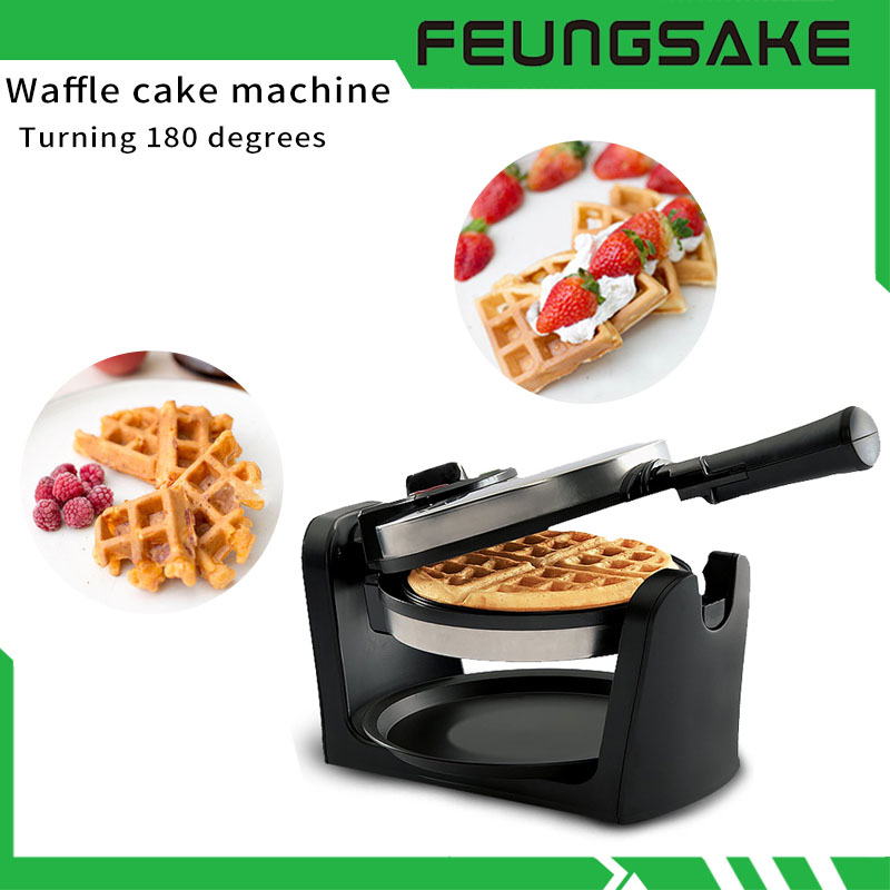 Electric Mini Donut Machine Maker Waffle Cake Small Kitchen Home Appliance