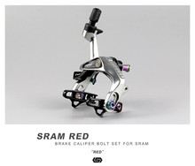 STAN Ti Road Bike V Brake Bolts Kit For SRAM Red Caliper