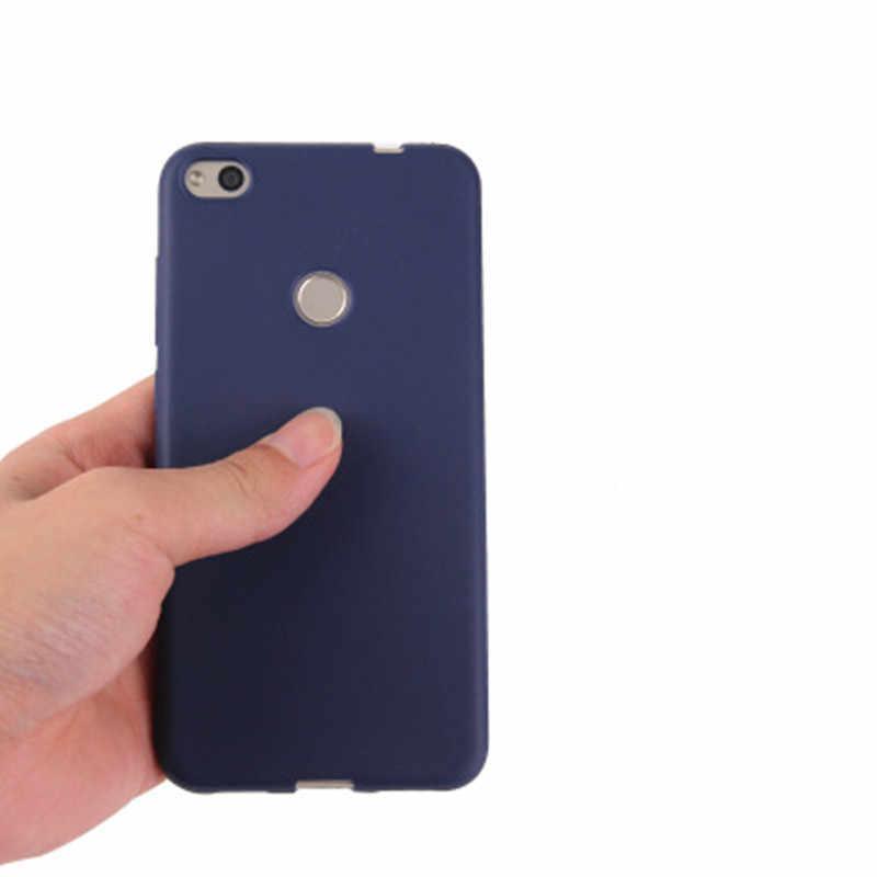Matte Silicone Soft TPU Cover case for Huawei P8 lite 2017 P20 Lite  P9 P10 Pro Nova 3 Honor 6A 6X Honor 8 9 Mate 10 20 lite
