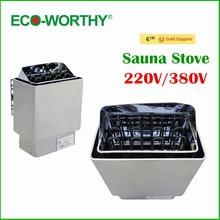 EU Stock 220V Sauna Room Use 6KW Stainless Steel Wet & Dry Sauna Stove, Sauna Heater For Sale