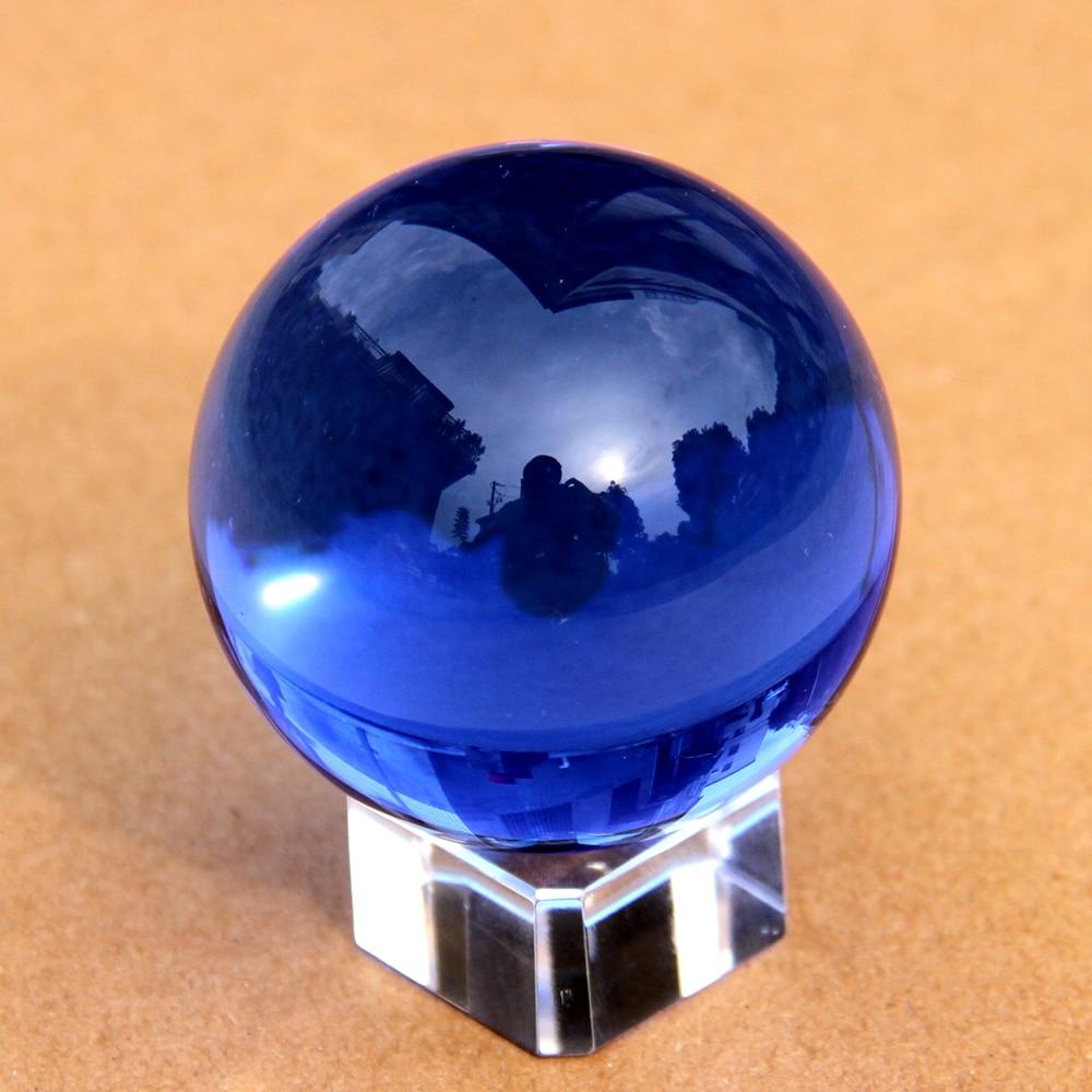 Dark Blue Rare Natural Quartz Crystal Ball Sphere 80mm ...Quartz Crystal Spheres For Sale