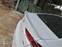 For Hyundai Sonata 2017 2019 Rear Wing Spoiler, Trunk Boot Wings Spoilers ABS paint 3M Paste