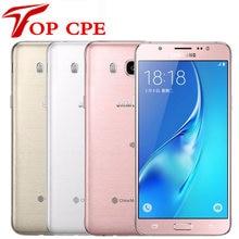 J7(6) оригинальный Samsung Galaxy J7 (2016) J7108 сотовый телефон с двумя SIM-картами LTE Восьмиядерный 5,5 дюймов 16 Гб ПЗУ 3 ГБ ОЗУ разблокированный смартфон