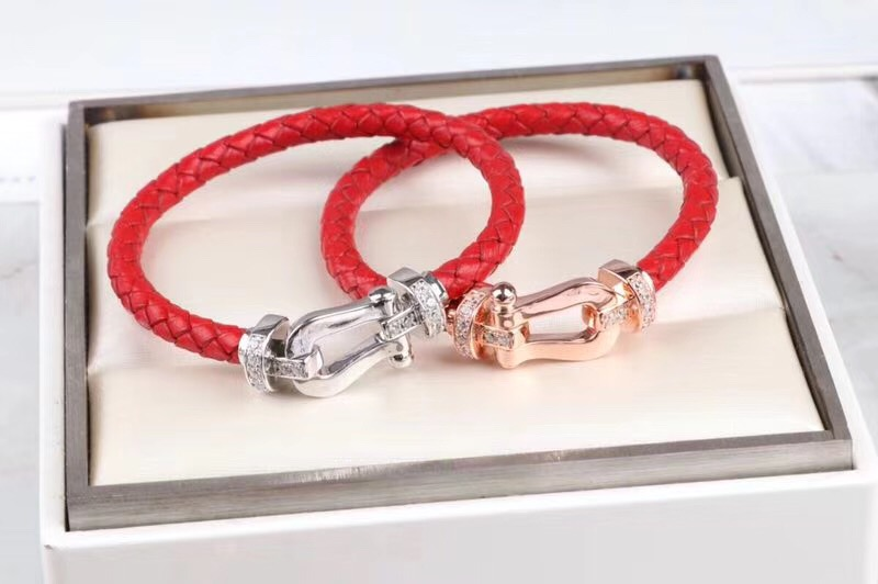 Viking jewelry S925 silver half zircon horseshoe bracelet bangles red rope leather bangles vintage style u bracelets women men s925 sterling silver bell lucky red rope bracelet handmade bracelets wax string amulet jewelry 1383