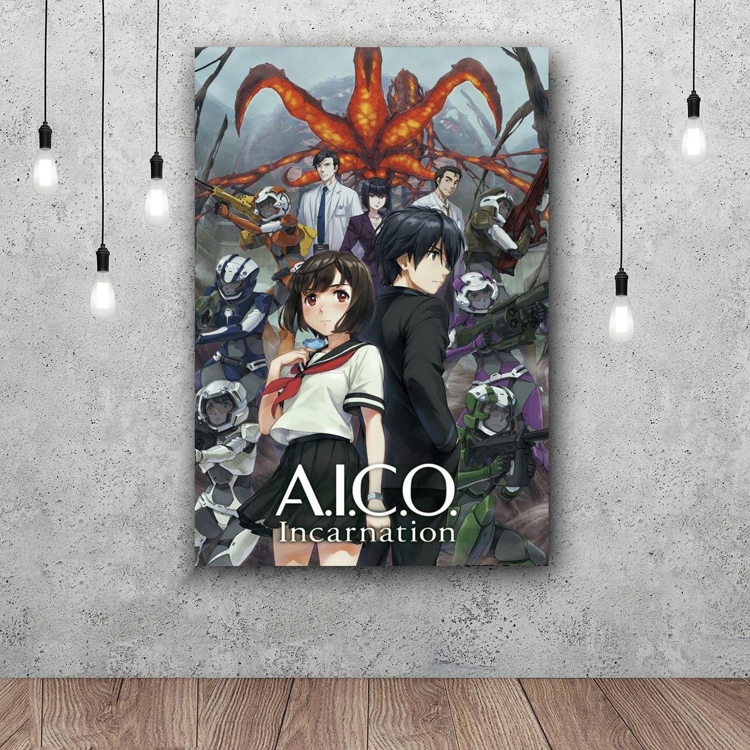 A.i.c.o. Воплощение Книги по искусству Шелковый плакат home decor 12x18 24x36 дюймов