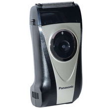 Panasonic razor ES-RP30 portable electric shaver with floating double cutter hea