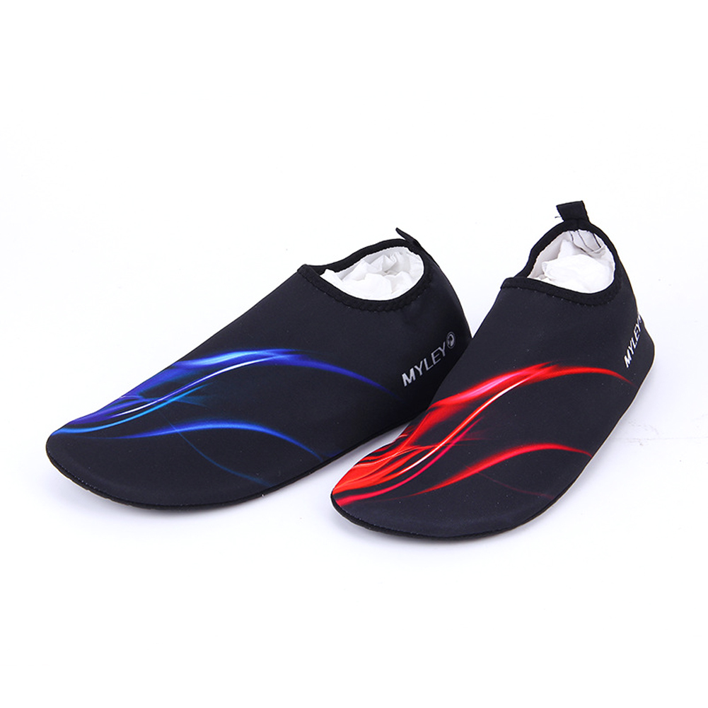 Durable Aqua Silicone Beach Shoes Yoga Exercise Pool Swim Slip On Surf Beach Water Socks