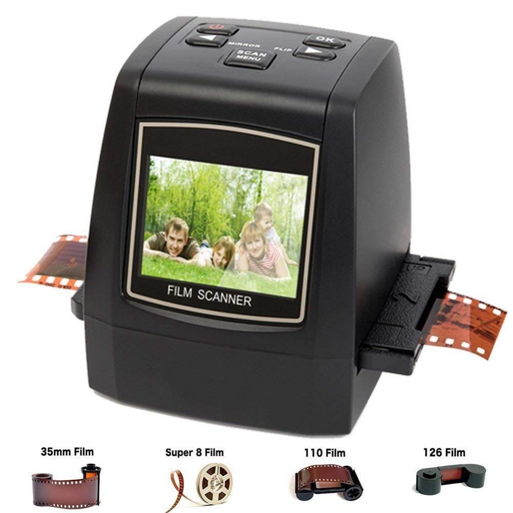 Scanner de Film numérique avec économiseur de câble USB