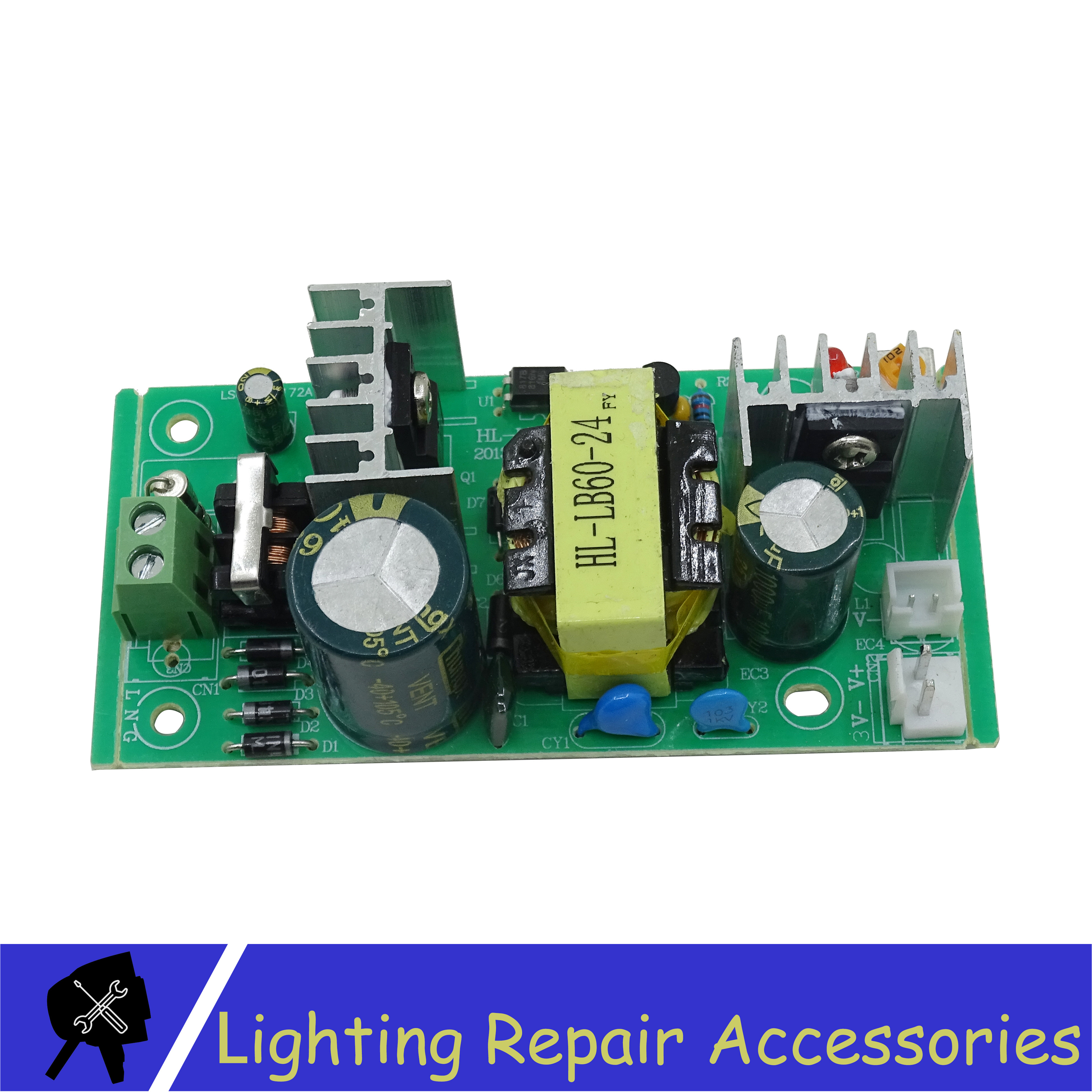60w 24V 2.5A Power Supply Stage Light Accessories For <font><b>12x12w</b></font> 54x1w RGBW Plastic <font><b>Led</b></font> <font><b>par</b></font> light image